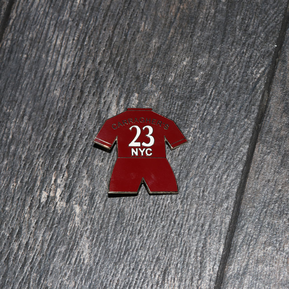 Carragher's Red Shirt Pin