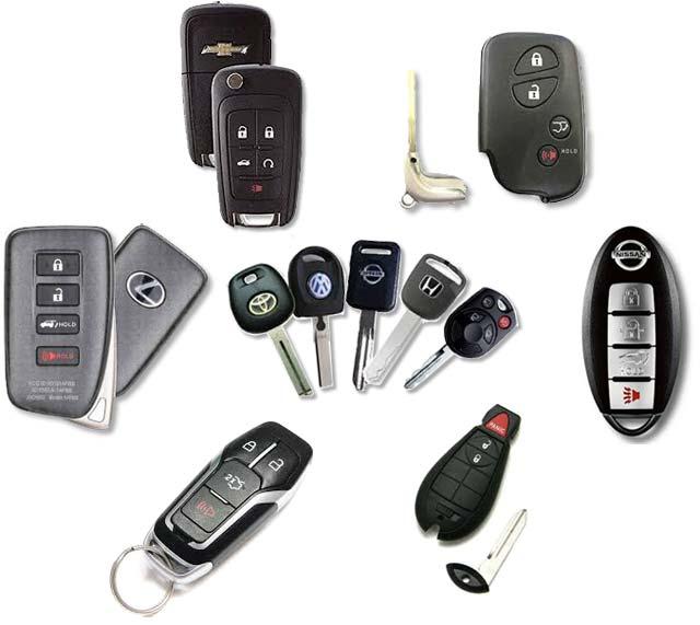 keys, fobs, remotes