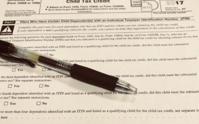 2018 Child/Dependent Tax Credit