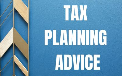Tax Planning Advice