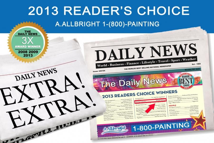 2013 Los Angeles Daily News Readers' Choice Award For LA's