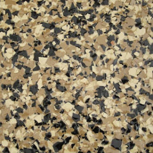 picture of aztec chip color for floor coatings