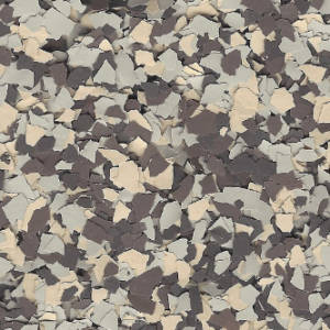 picture of cordwood chip color for floor coatings
