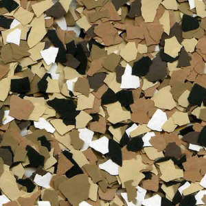 picture of sandstone chip color for floor coatings