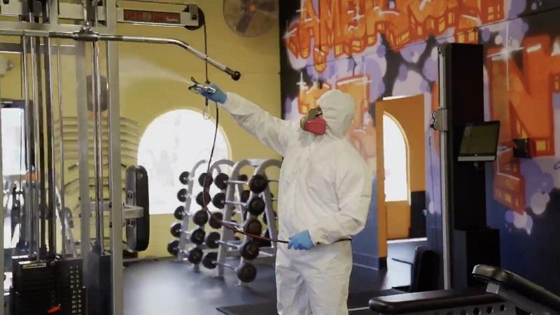 coronavirus cleaning los angeles