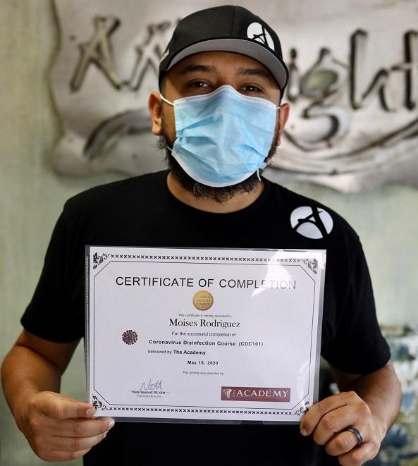 coronavirus certification