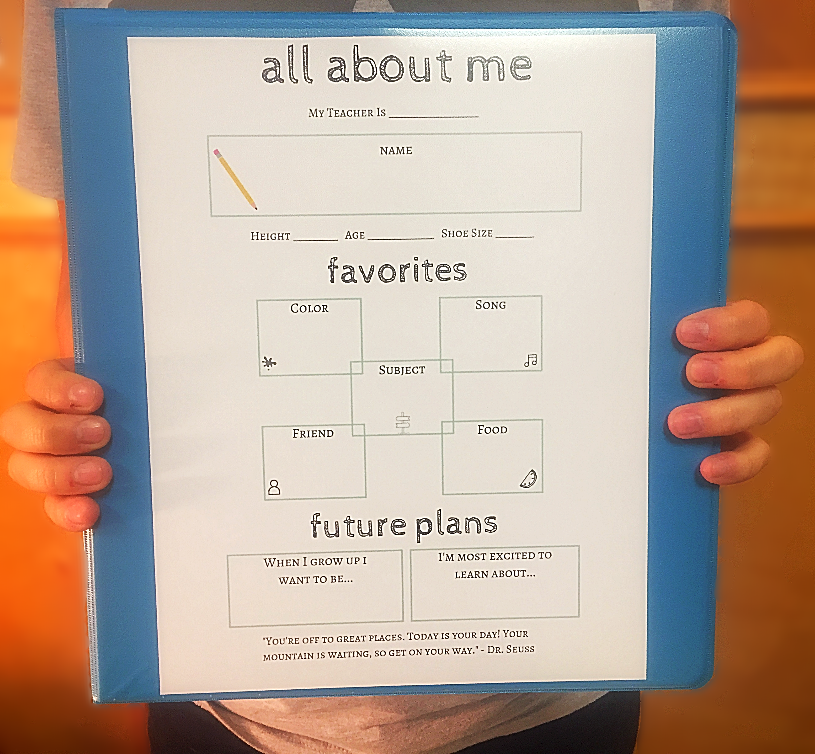 first day of school free printable binders samsill