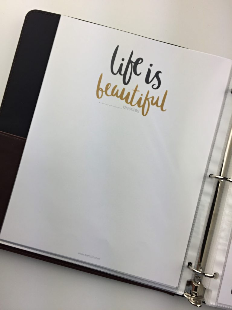 life is beautiful, monthly favorite page, free printables, 2018 goals, goal setting, goal tracker