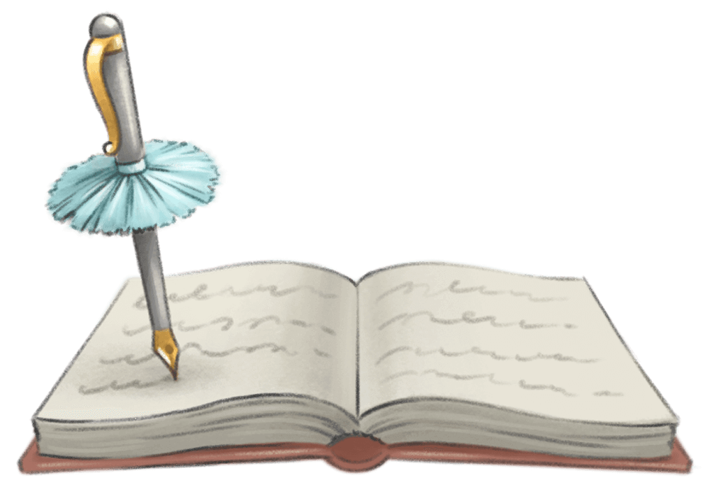 logo with book
