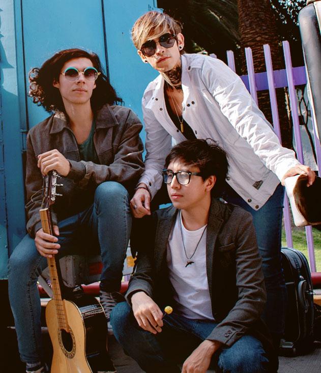 GALA The Band, Emi, Luis, Arturo
