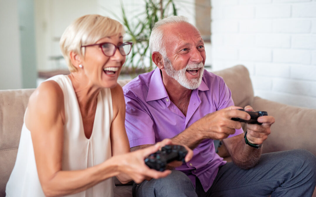 You're Never Too Old To Play Games
