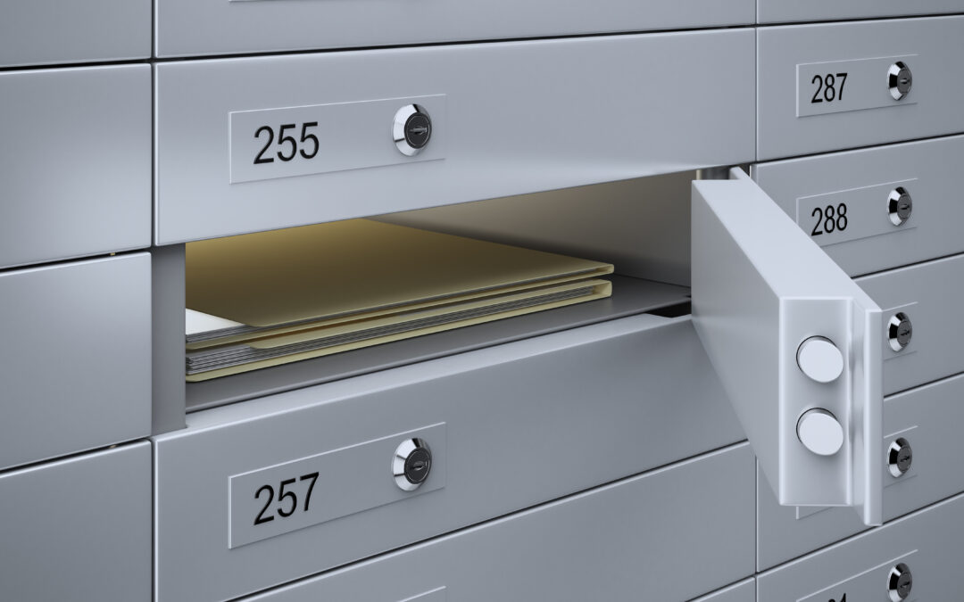 Where do you store your critical information?