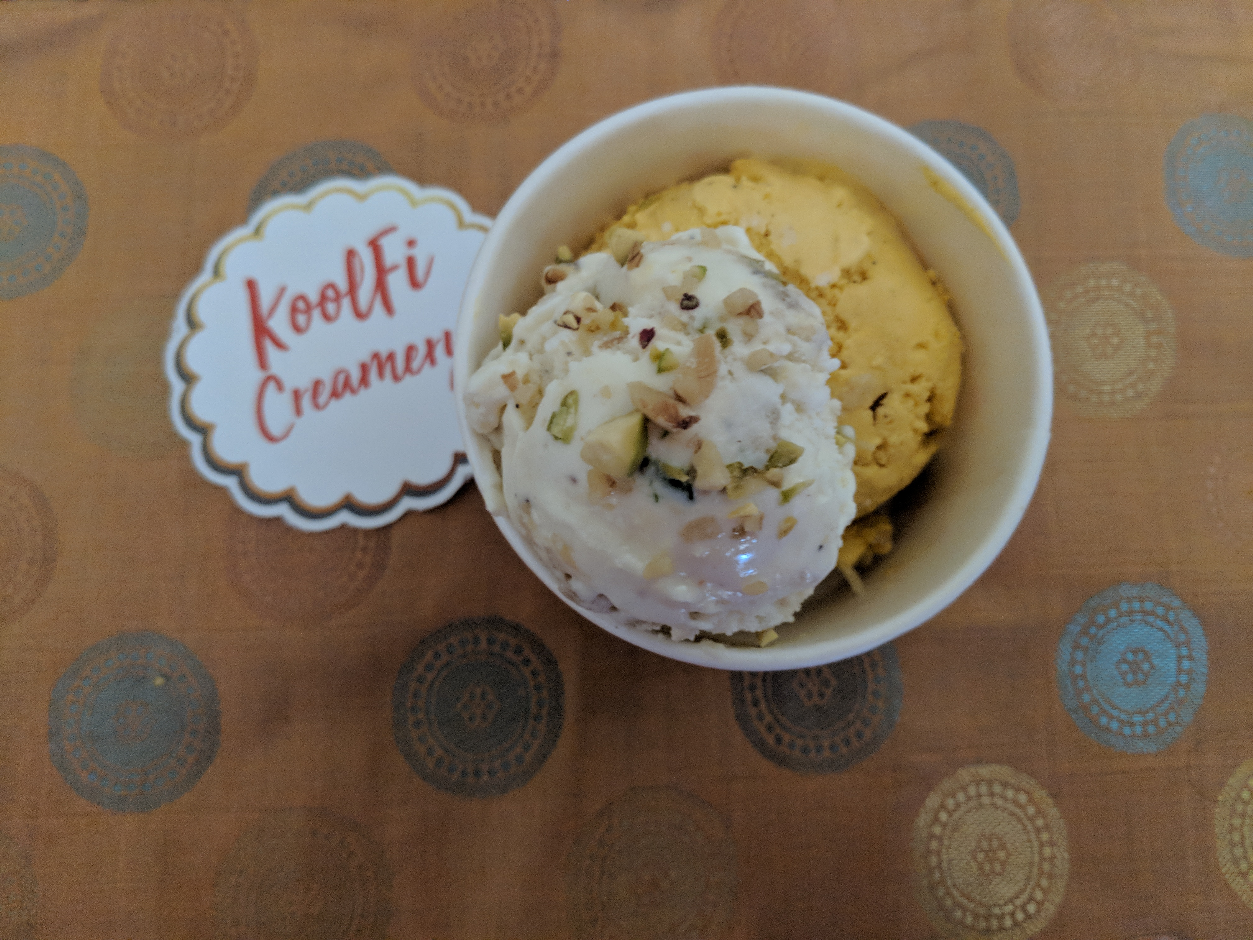 Malai Kulfi and Mango