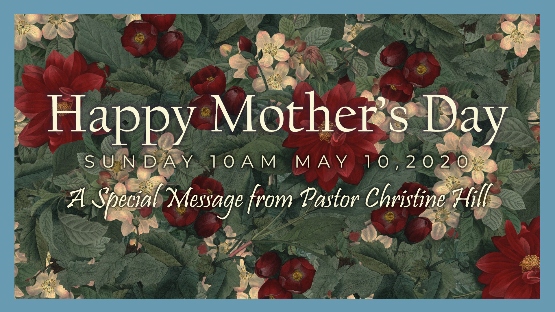 May 10: Mother's Day, Live Stream