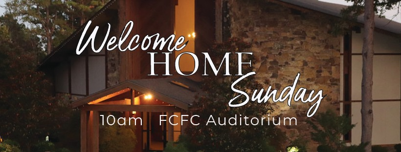 June 14: Welcome Home Sunday