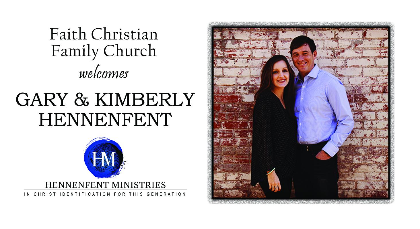 Aug 30: Gary & Kimberly Hennenfent