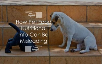 How Pet Food Nutritional Info Can Be Misleading