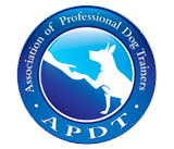apdt association of professional dog trainers member logo