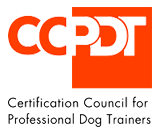 ccpdt certification council for pro dog trainers logo