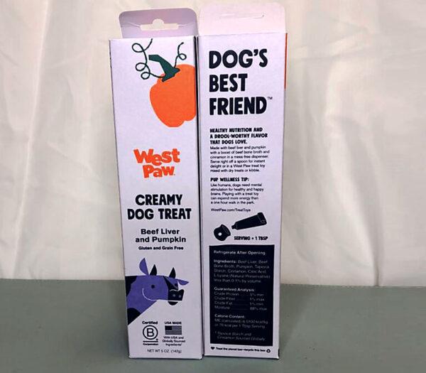 creamy dog treat for lick matt pumpkin flavored educanine lehigh valley pa dog training