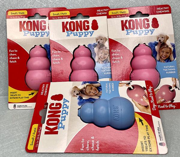 Small Puppy Kongs