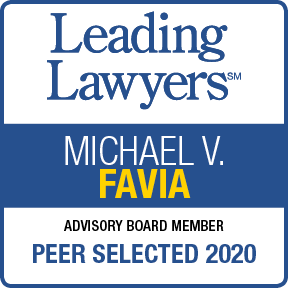 Leading Lawyers Michael V. Favia Peer Selected 2020