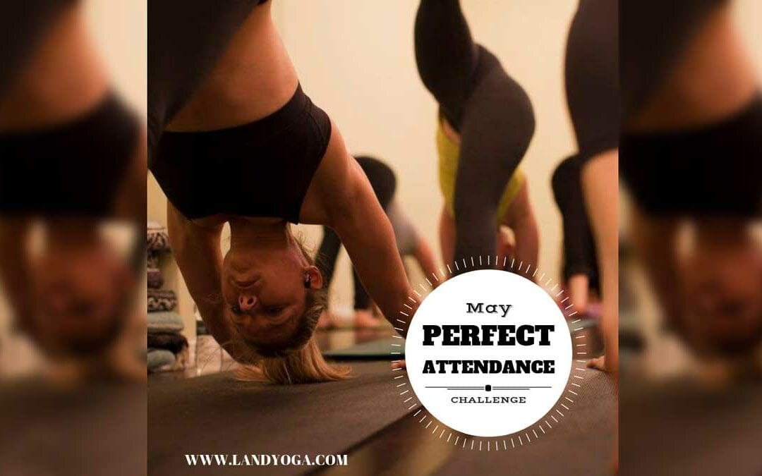 May Perfect Attendance Challenge