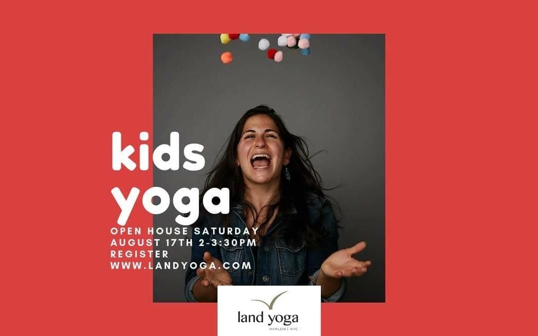 Kids Yoga Open House 2019