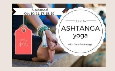 Intro to Ashtanga
