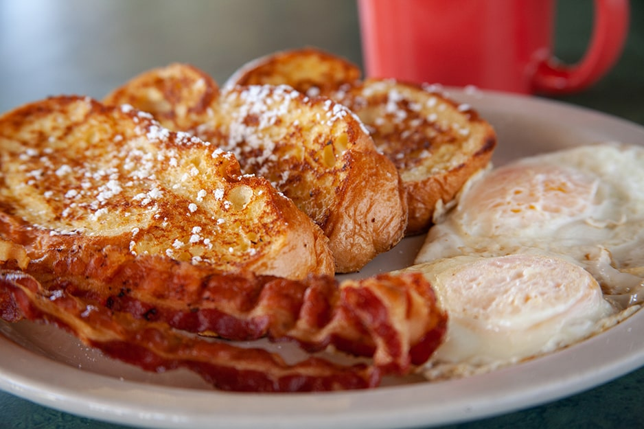 French Toast at Captain's Galley