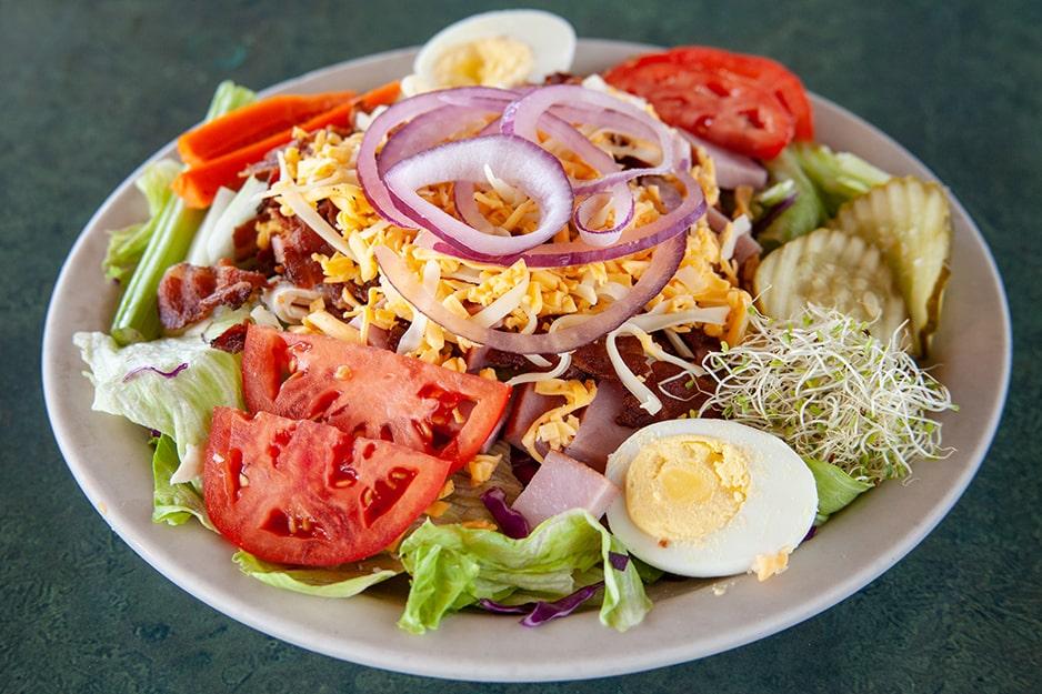 Salad at Captain's Galley