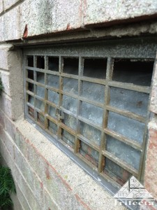 Unprotected crawl space vents are a common entry point for mice and other wildlife