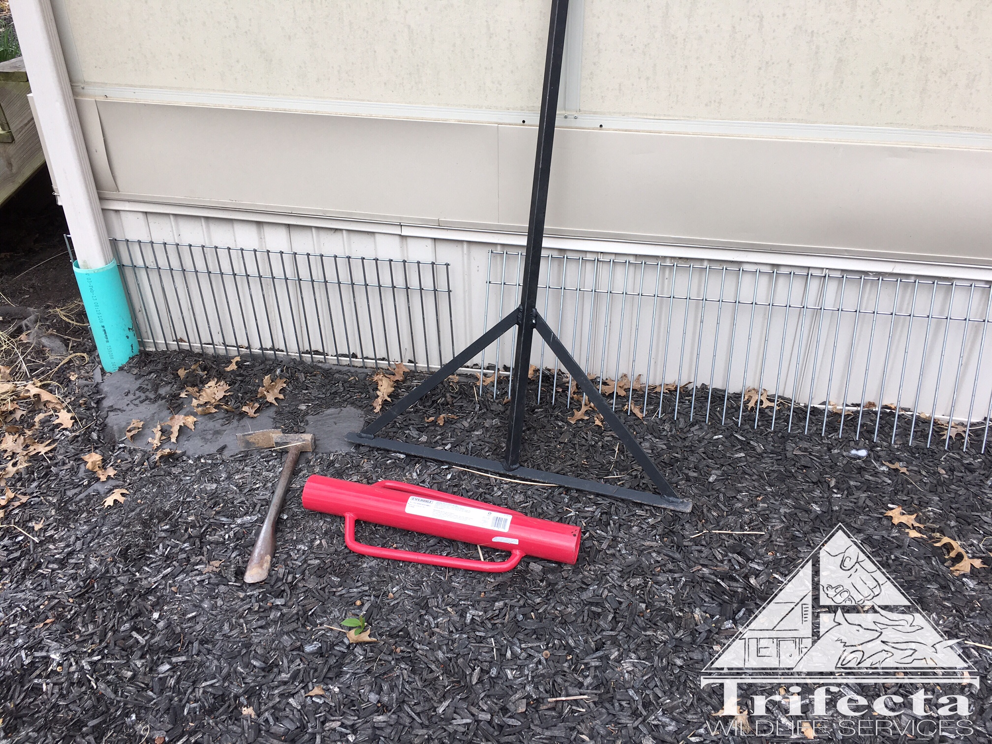 Dig Defence product and installation tools