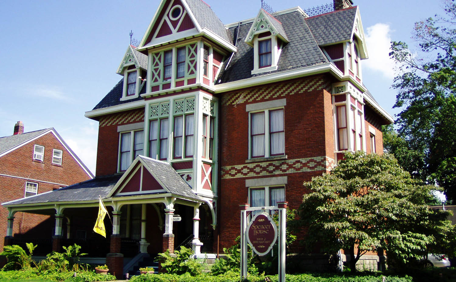 Front view of Spencer House Bed and Breakfast