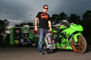 Stunt Rider Dan Jackson - choosing a new path blog post