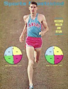 famous athletes from Wichita Kansas - Jim Ryun