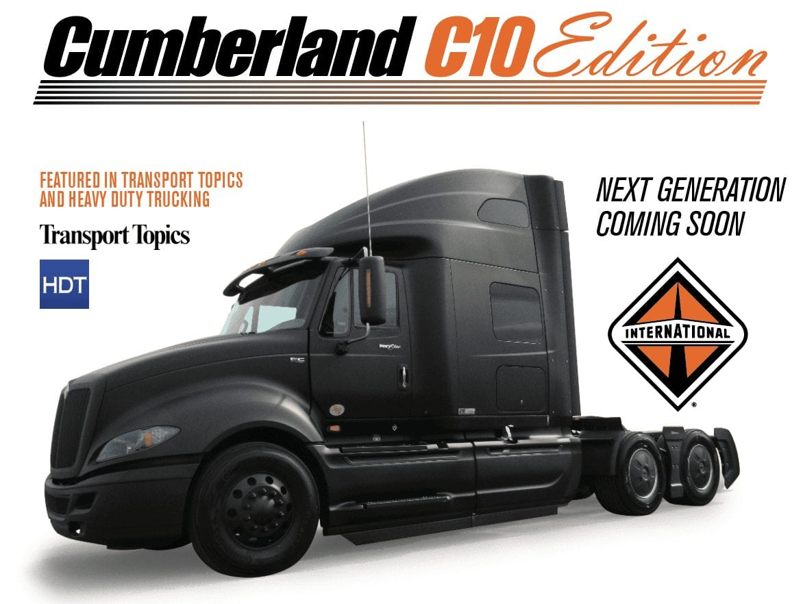 Cumberland's C10 Fuel Efficient Truck -Tennessee