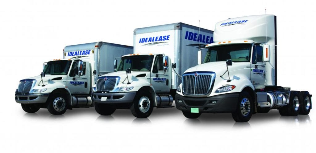 Idealease truck lease and rental options in nashville and mufreesboro tn