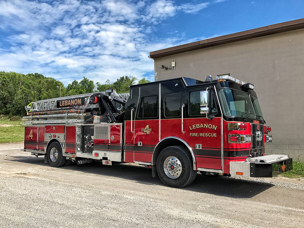 Nashville Premier's Sutphen Fire Truck Dealer