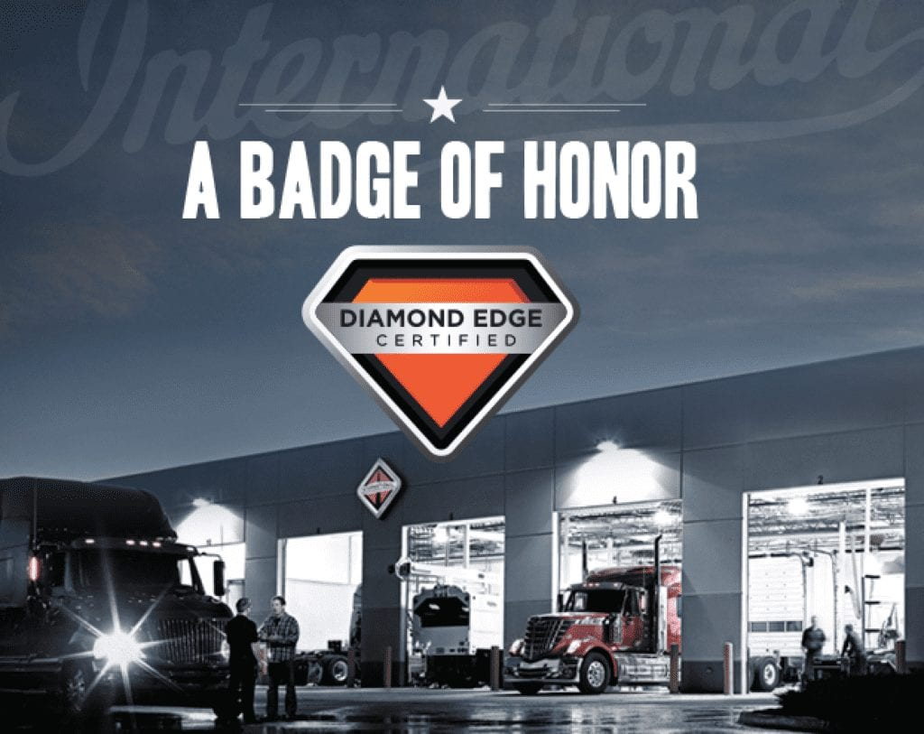 Diamond Edge Certified Truck Service Department