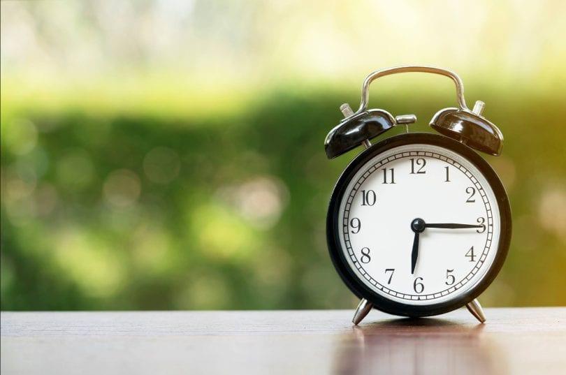 Daylight Savings Time Starts Sunday November 3rd