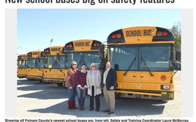 Ashley Scurlock & IC Bus Safety Benefits Featured in Local Newspaper