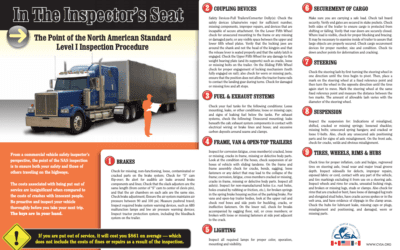 Driver Tip Sheet for 2019 Roadcheck