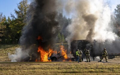 Commercial Motor Vehicle Fires – Review Fire Prevention and Reaction with Commercial Drivers