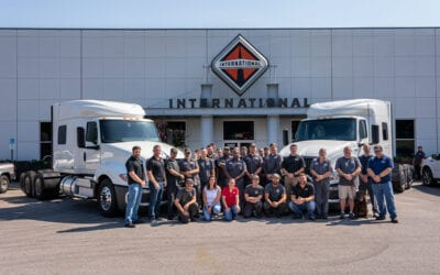 Sam Johnson, Service Manager, and Cumberland Service Team Featured in Fleet Services Magazine