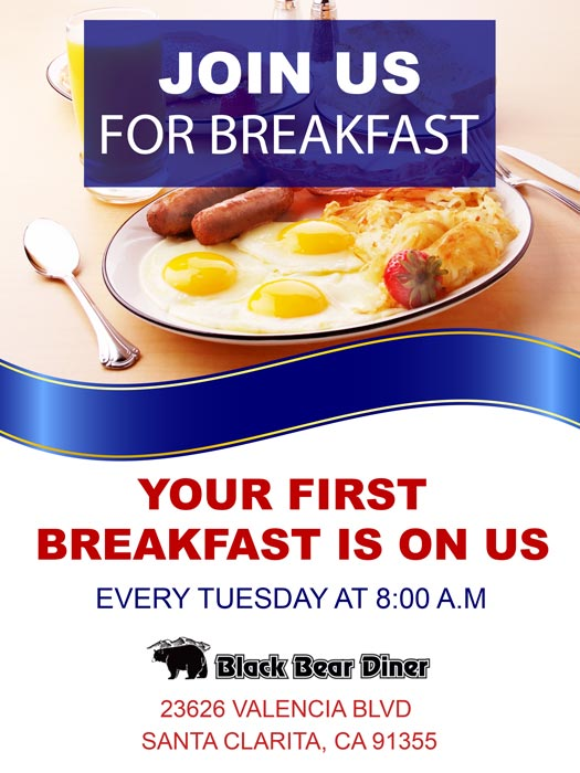 Join Us For Breakfast
