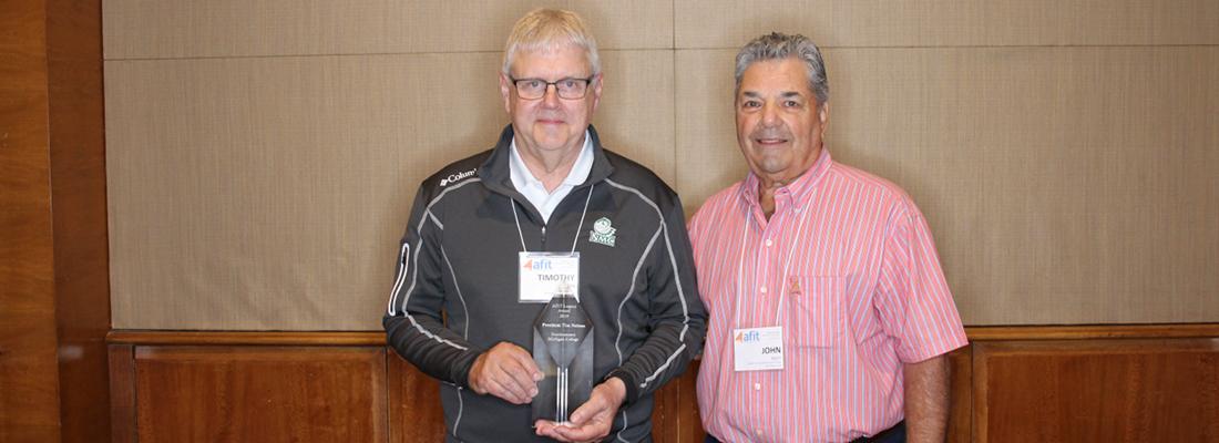 Tim Nelson Receives AFIT Legacy Award