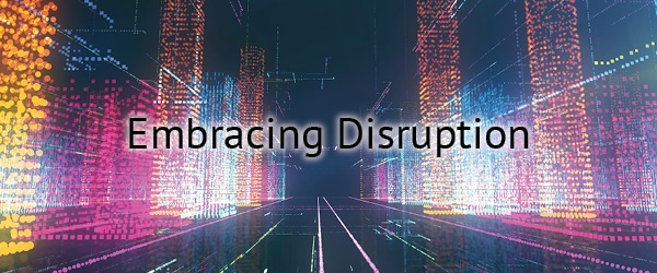 "Photograph introducing AFIT's 2020 Virtual Summer Institute focused on ""Embracing Disruption"""