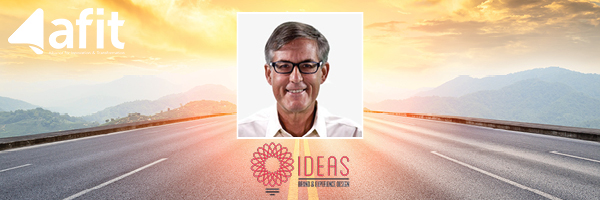 Photo of Bob Allen, chief storyteller and CEO at IDEAS Orlando.