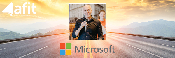 Photo of Mark Sparvell of Microsoft